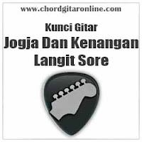 Chord Kunci Gitar Langit Sore Jogja Dan Kenangan
