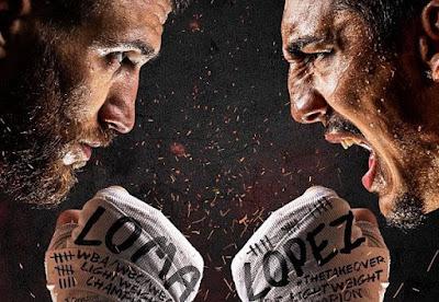 Lomachenko vs Lopez poster