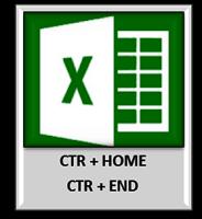 Shortcut Excel CTR+END