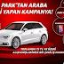 AHL Park AVM Audi A3 Çekiliş Sonucu