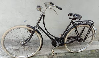 Jual sepeda unto Antik merk Gazelle seri 10
