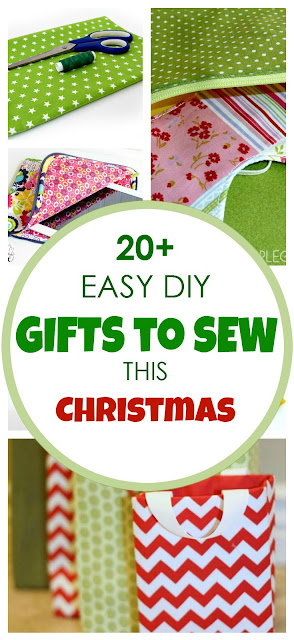 20+ Easy DIY Gifts To Sew {This Christmas!} - AppleGreen ...