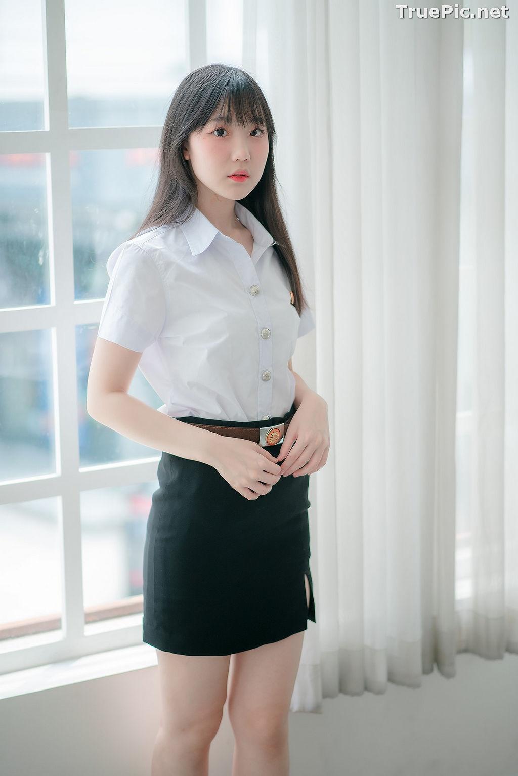 Image Thailand Model - Miki Ariyathanakit - Cute Student Girl - TruePic.net - Picture-5