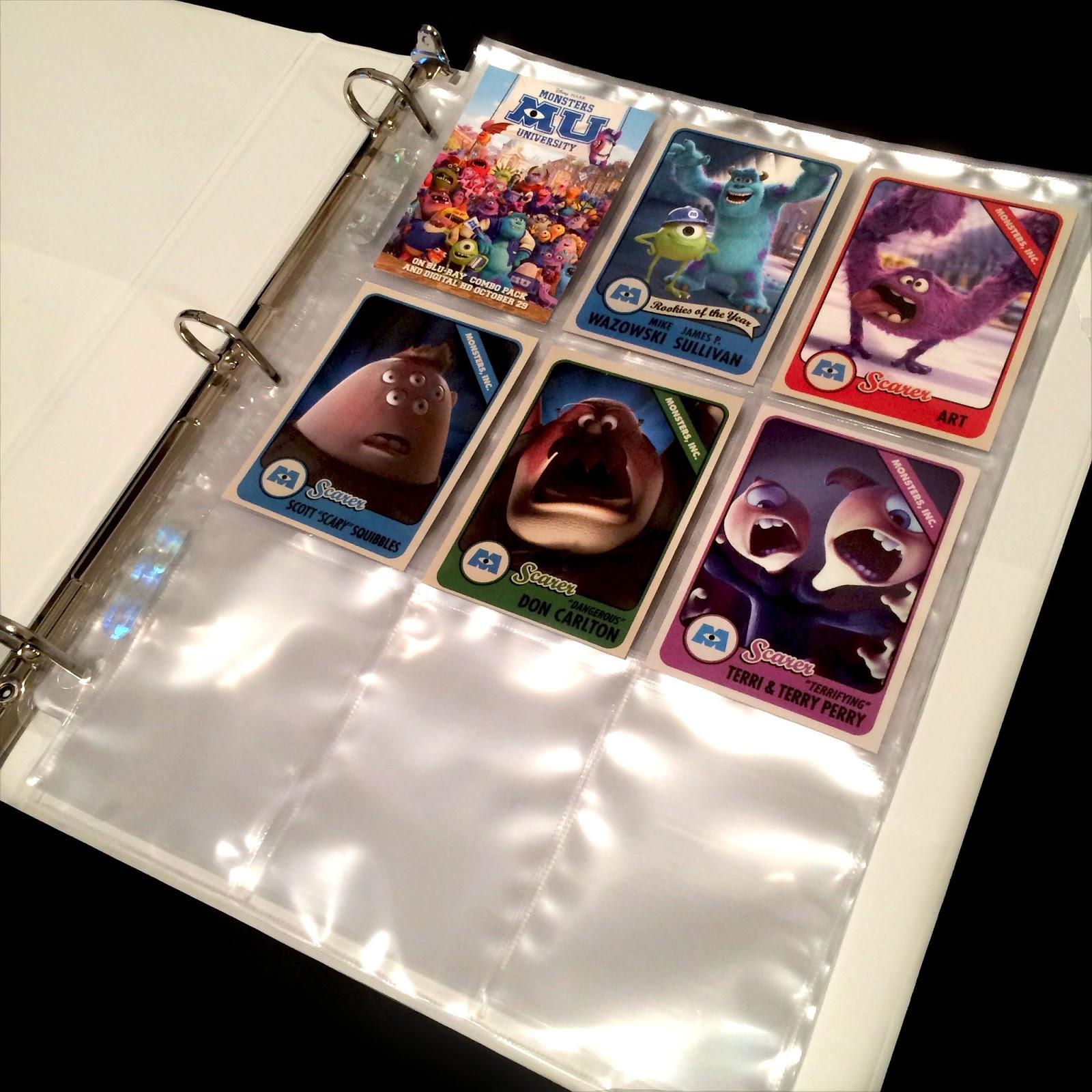Dan the Pixar Fan Monsters University Scare Card