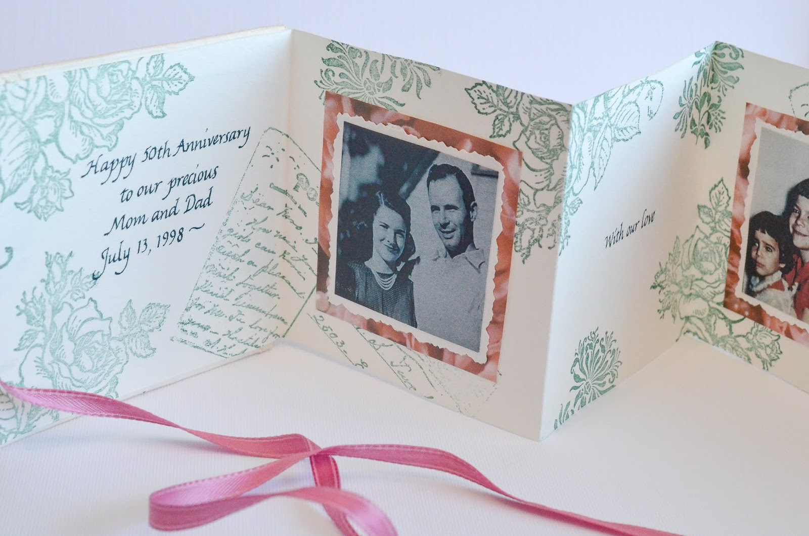Make a Simple Accordion Card/Mini-Book