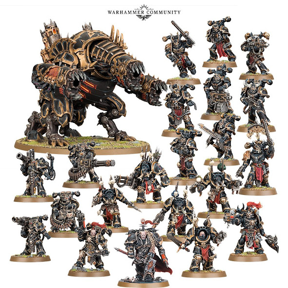 Chaos Space Marines – Decimation Warband