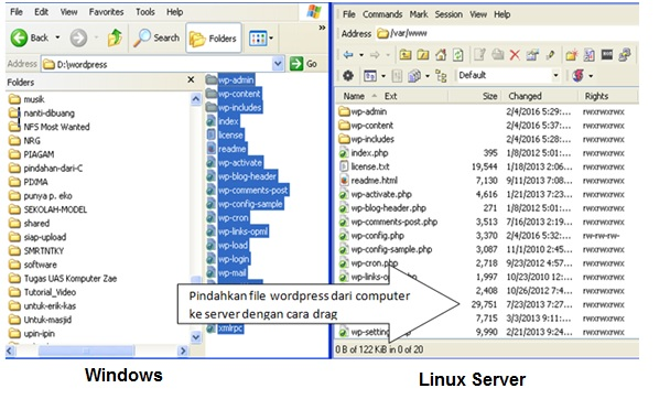 ASJ (Kelas XII Semester 1) Database Server Linux Debian 8.5