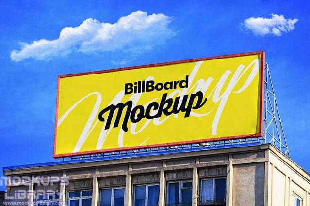 building billboard mockups