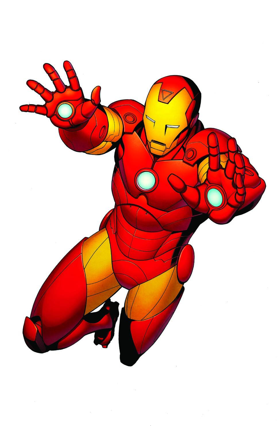 - Robert Atkins Art: Iron Man Colors...