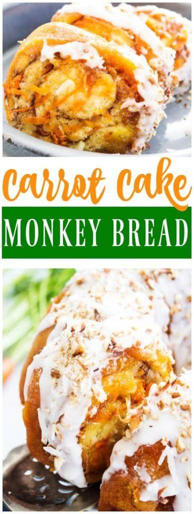 Carrot Cake Monkey Bread