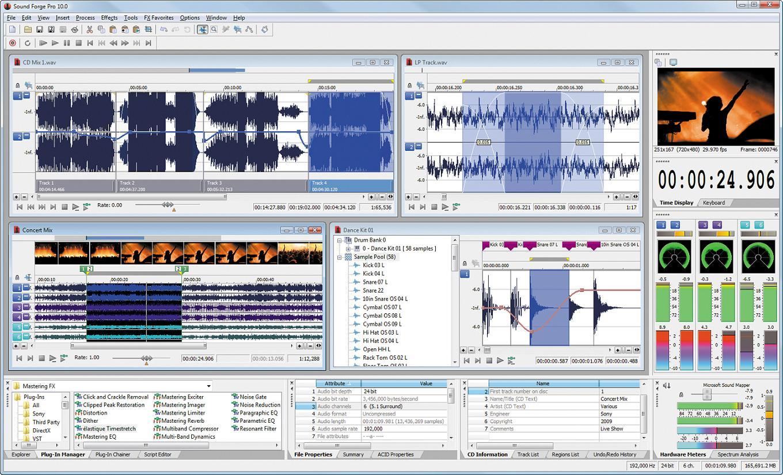 10 0: [Soft] Sony Sound Forge Audio Studio 10.0 Build 252 [Full