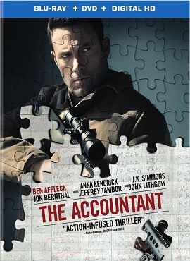 The Accountant (2016) English 720p & 1080p Blu-Ray