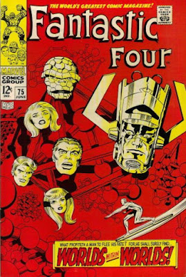 Fantastic Four #75, Galactus is back