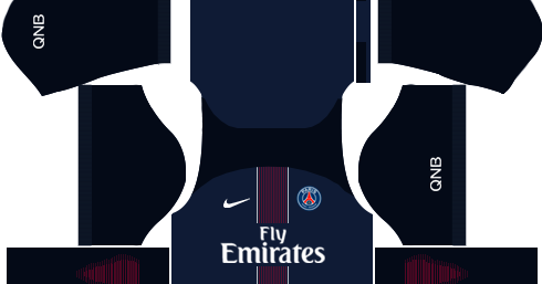 Paris Saint Germain Psg 2016 17 Dream League Soccer Kits And Fts15 Kuchalana