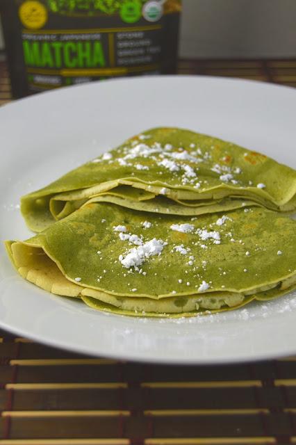 Matcha Crepes