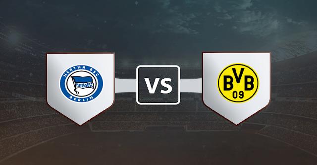 نتيجة مباراة بوروسيا دورتموند وهيرتا برلين اليوم السبت 21 نوفمبر 2020 في الدوري الالماني