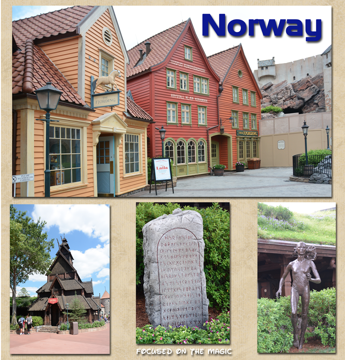 Norway Pavilion Epcot's World Showcase