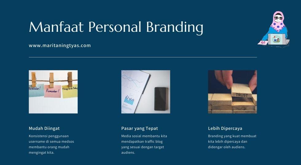 manfaat personal branding di media sosial