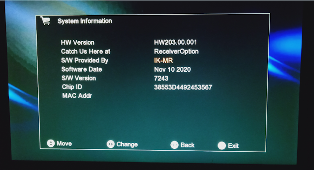 GX6605S HW203 SERIES NEW SOFTWARE WITH BLACK THEME