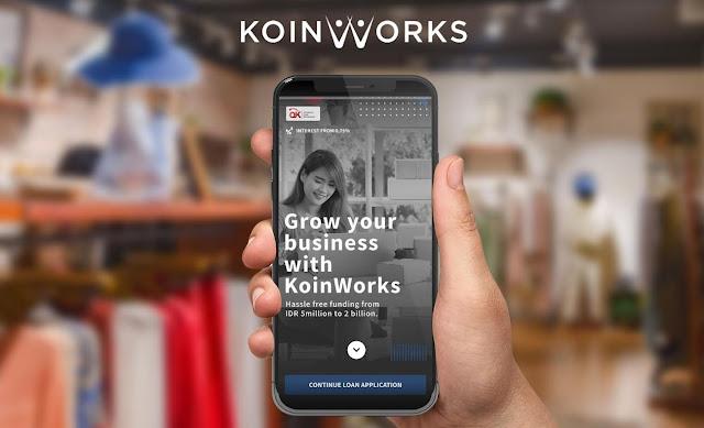 KoinWorks Fokus Berikan Akses Pembiayaan UKM Digital Hadapi New Normal