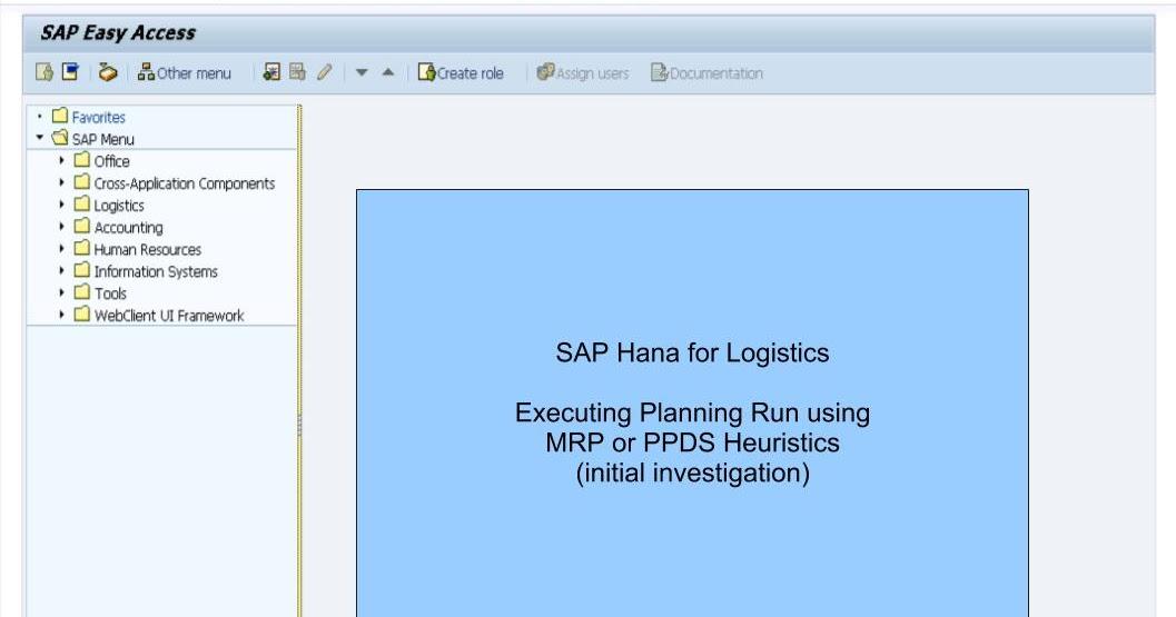 青蛙SAP分享 Learning & Examination: Hana for Logistics - Initial