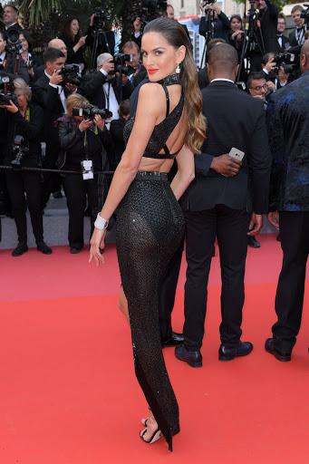 Izabel Goulart red carpet fashion dresses photo