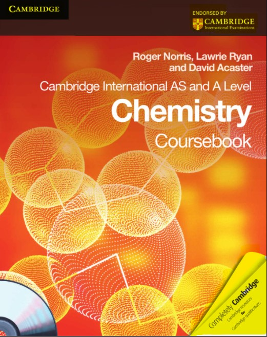 Cambridge International AS and A Level Chemistry Coursebook  in pdf