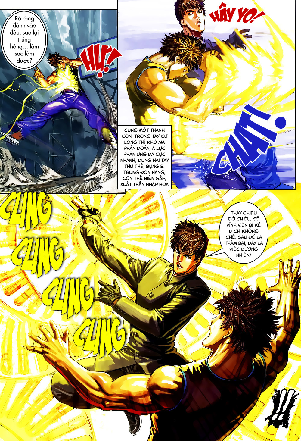 Quyền Đạo chapter 5 trang 11