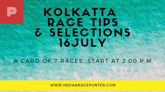 Kolkatta Race Tips 16 July