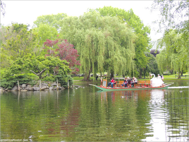 Lago del Boston Public Garden, Massachusetts