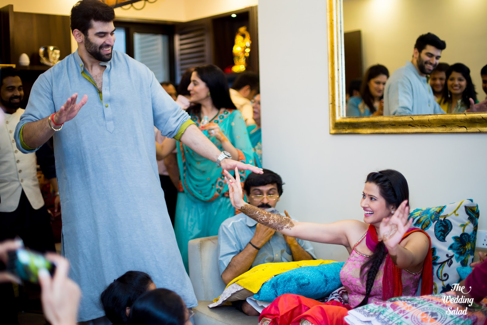 Kratika Sengar & Nikitin Dheer: Celebrity Wedding in ITC Grand ...