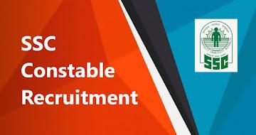 SSC Constable Recruitment 2021 – 25271 Constable GD Vacancy
