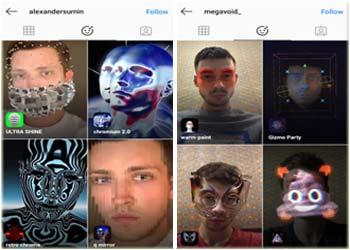 Contoh Face Filter Instagram Buatan Sendiri Menggunakan Spark AR