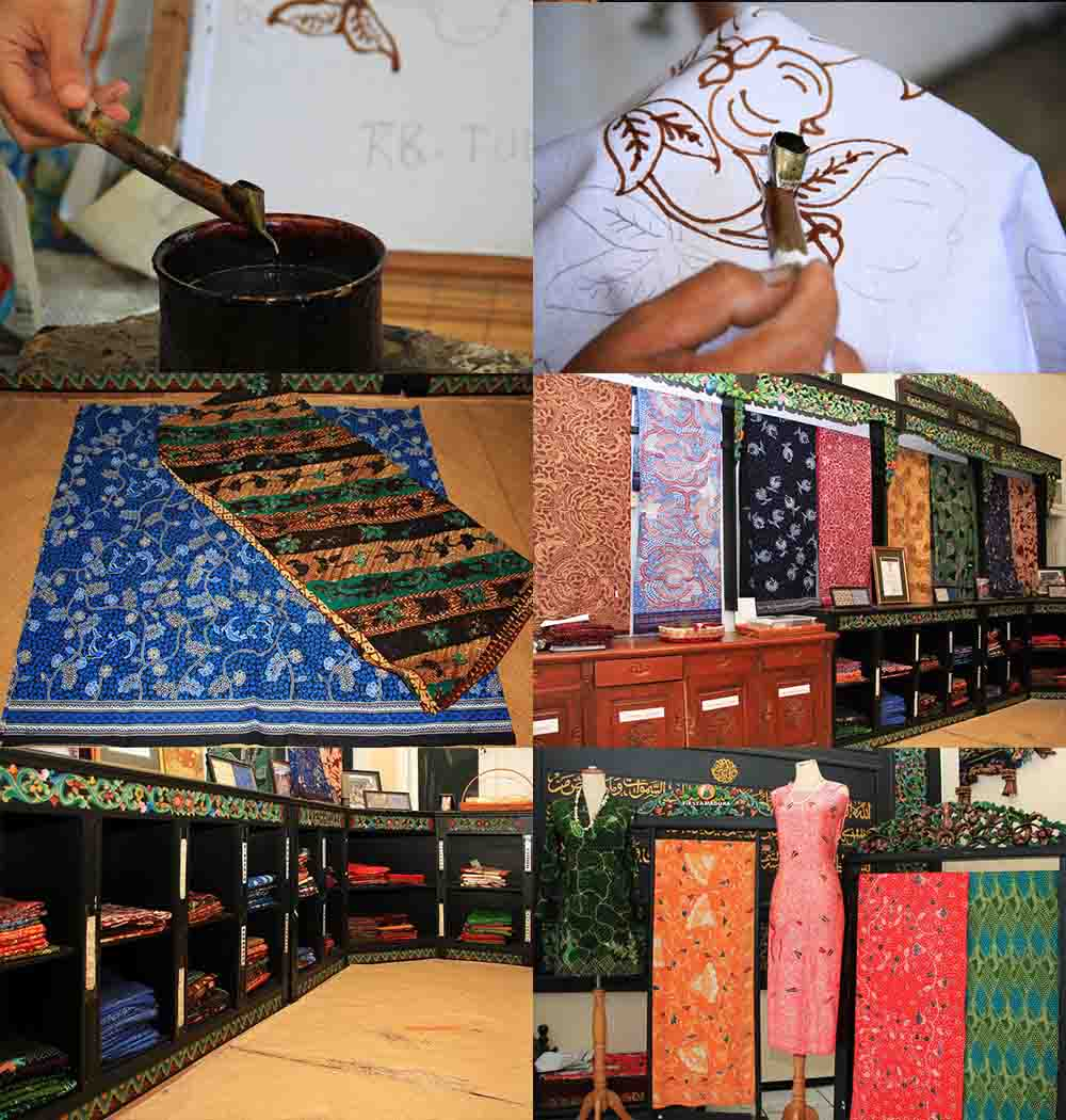 Wisata Batik di Rumah Batik Surabaya Jawa Timur - Kamera Budaya