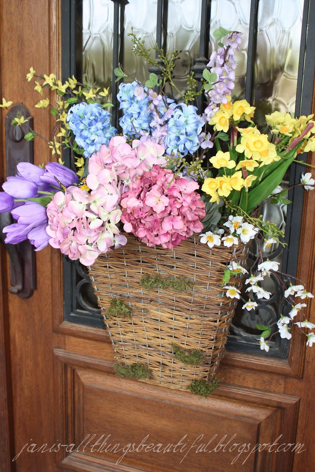 If I Had A Green Thumb Flower Baskets