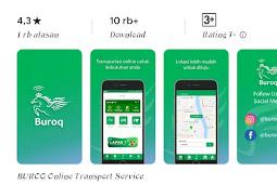 Buuroq, aplikasi ojek online Baru