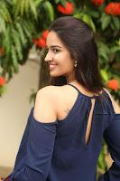 Poojita Super Cute Smile in Blue Top black Trousers at Darsakudu press meet ~ Celebrities Galleries 096.JPG