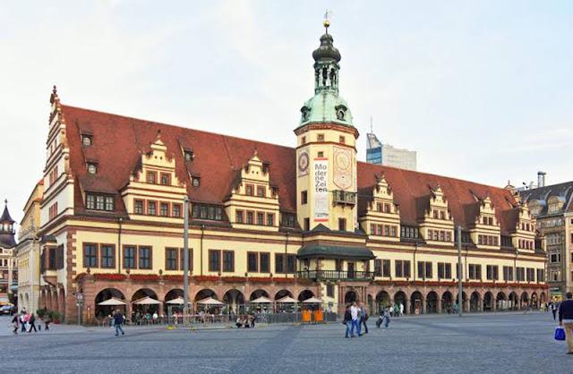 Antiga Prefeitura em Leipzig