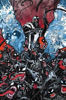 """Reseña de """"Marvel Now! Deluxe. Guardianes de la Galaxia de Brian M. Bendis"""" vol.2, Planeta de Simbiontes - Panini Cómics"""