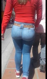 Mujeres lindas colas redondas