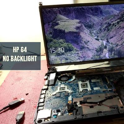 HP G4 NO BACKLIGHT