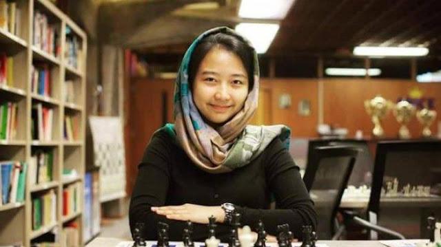 GM Irine Kharisma Sukandar, dalam Artikel : 4 Pecatur Indonesia Masuk Dalam Daftar Pecatur Top Dunia