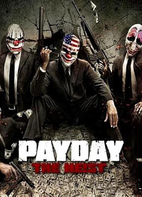 Capa do Payday: The Heist