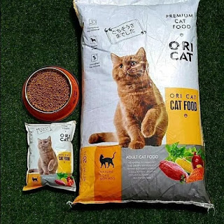 Makanan kucing Ori Cat