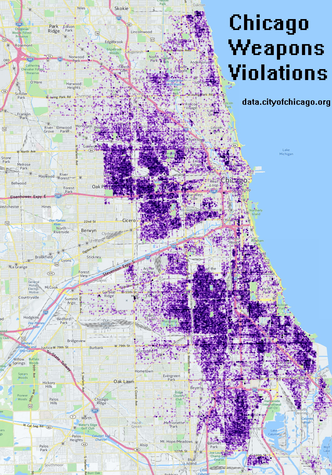 Chicago weapons violations
