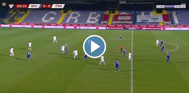 Bosnia & Herzegovina vs France Live Score