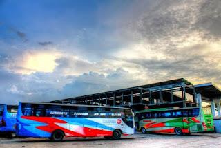 Bus Malang ke Batu