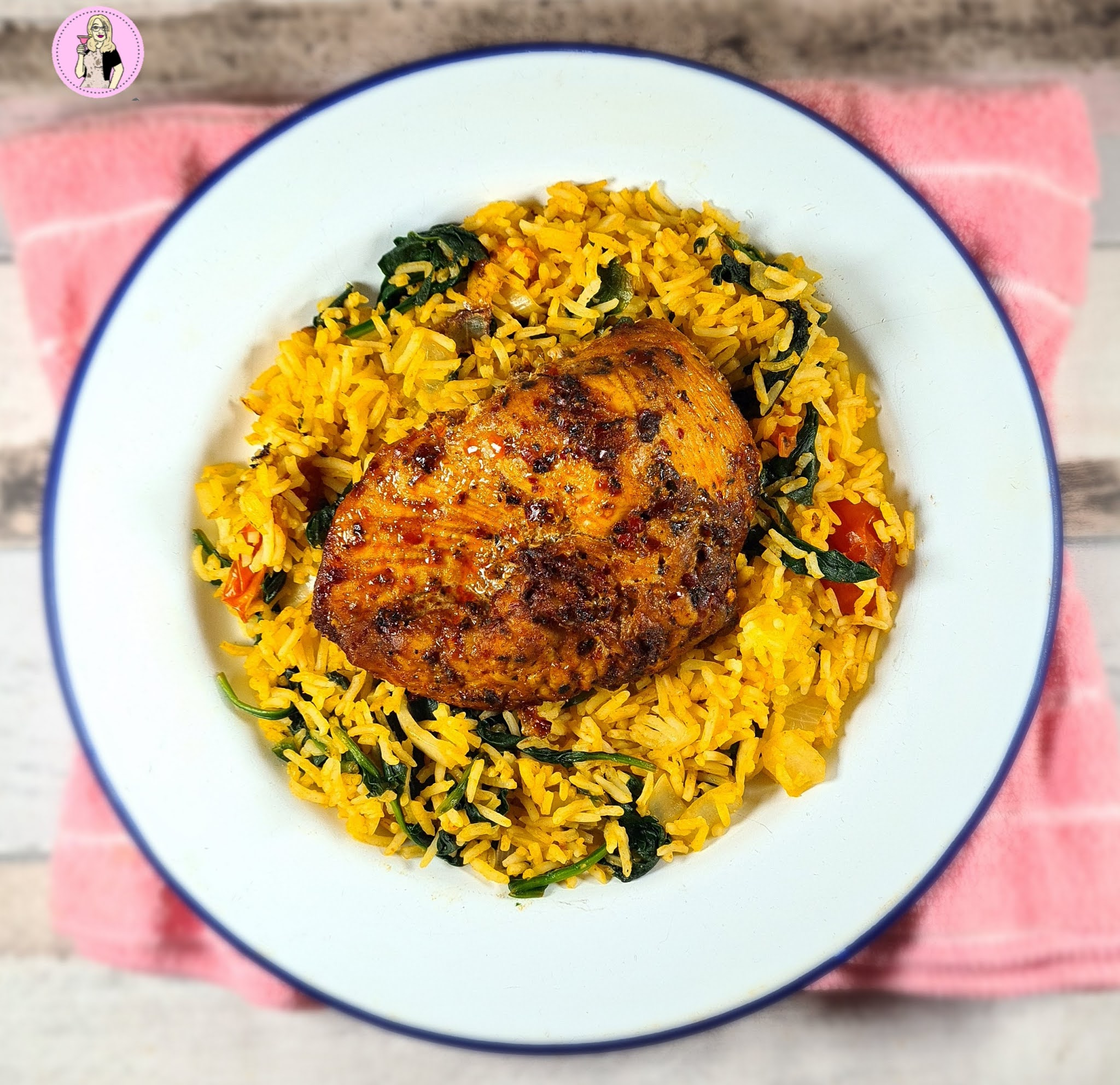 Cajun Chicken Breast Rice Recipe Slimming Friendly Sugar Pink Food