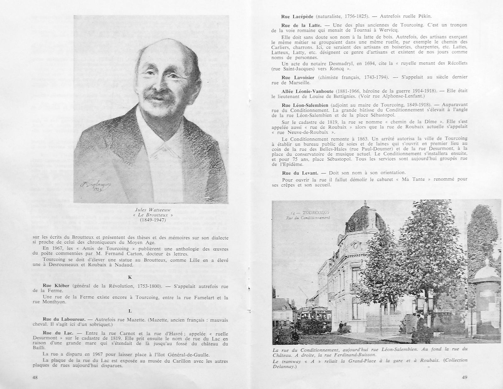 Jean Christophe - Si les rues de Tourcoing m'étaient contées, pages 48 et 49