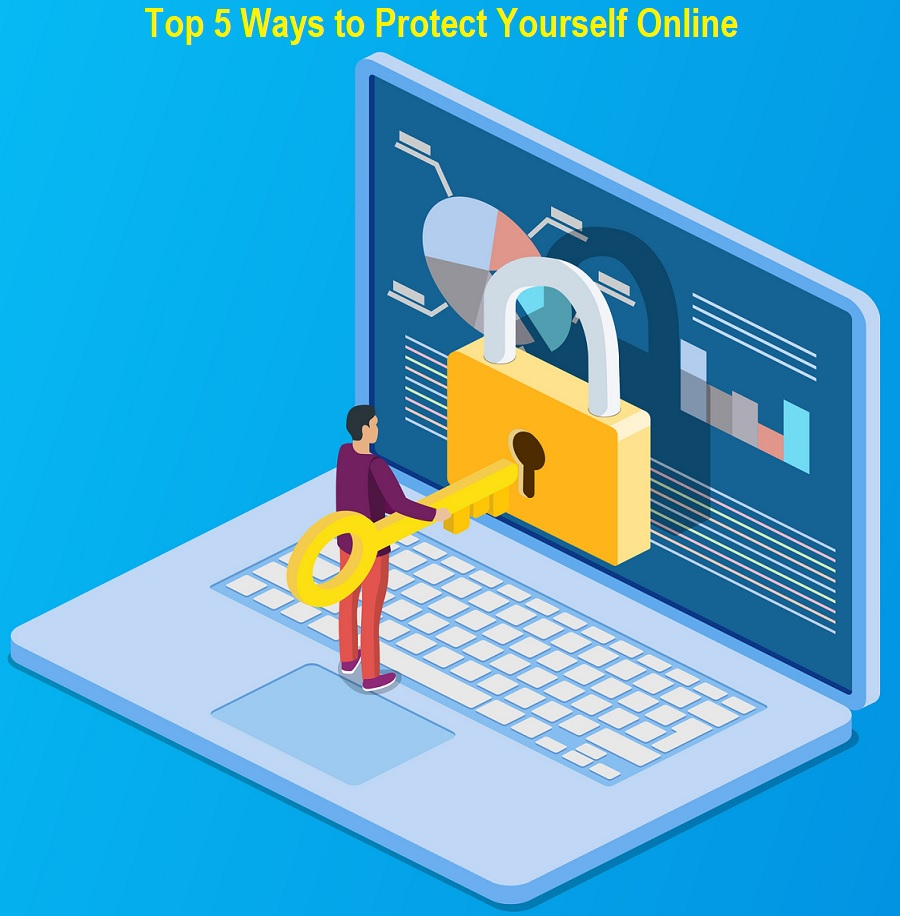 5 Ways to Protect Yourself Online